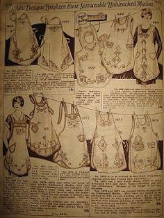 antique aprons