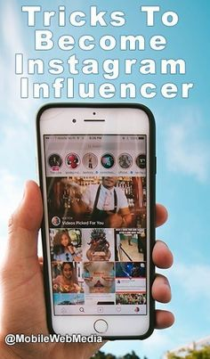 How To Learn Skills & Tricks To Become Instagram Influencer New Instagram, Instagram Accounts, Growth Company, Picture Sharing, Mobile Web, More Followers, Instagram Influencer, Landscape Photos, Understanding Yourself