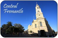 Fremantle Central including a Central Fremantle Map, Demographics, Geography Town Hall, San Francisco Ferry, Geography, Notre Dame, Building, Travel, Viajes, Buildings, Trips