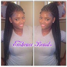 ghana braids ponytail - Google Search