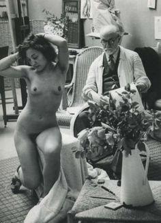 Henri-MATISSE-chez-lui-capte-par-BRASSAI-en-1939
