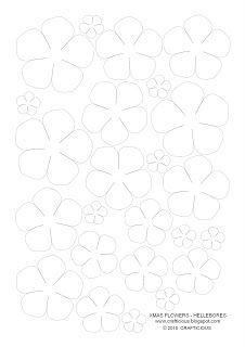 crafticious: Рождественский венок бумага и цветок Учебник