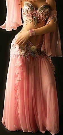 Belly Dance Pink Outfit <3                                  Oh, if I had the body for this!