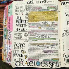 Bible Journaling Bible Study Journal, Scripture Study, Bible Art, My Bible, Bible Verses, Art Journaling, Bible Notes, Study Motivation, Illustrated Faith