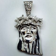 Micro Jesus Piece And Chain $260 via @shopseen