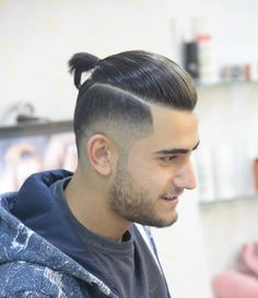 Disconnected Undercuts With Man Bun