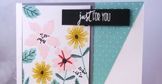 Hand stamped card by Lesley Croghan using a sentiment from the Simply Amazing stamp set from Verve. #vervestamps