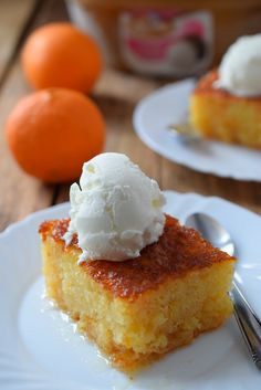 Greek Orange Cake - Portokalopita