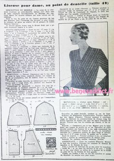 Couture, Crochet For Beginners, Vintage Knitting, Loom Knitting, Clothing Patterns, Knit Crochet, Retro Vintage, Sewing Projects, Vintage Outfits