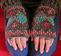 Lake Art, Fingerless Gloves, Arm Warmers, Yoga, Studio, Sandals, Crochet, Fashion, Fingerless Mitts