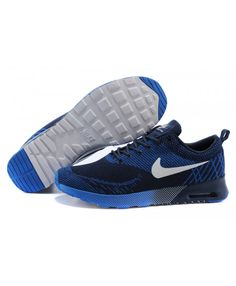 Cheap Nike Air Max 87 Thea Flyknit Navy Blue Royal Blue White Is now one of the popular Nike style, very popular, very fashionable, very able to attract the attention of others.
