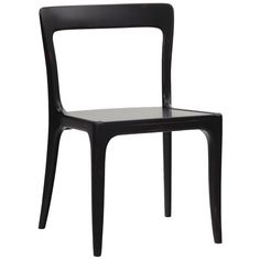 Redford House  // James Side Chair in Black Finish