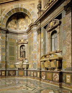 The chapel of the Princess, Mausoleum of the Medici family
