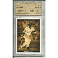 TFA 10 GEM MINT Hall of Famer Tony Gwynn 2002 Upper Deck # 81 Legendary Cuts Listing in the Graded,2000-2010,Singles,MLB,Baseball,Sports Cards,Sport Memorabilia & Cards Category on eBid United States | 147730201