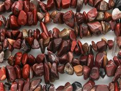 "Happy Mango Beads - Brecciated Jasper Chip Gemstone Beads - 36"" strand (GS3643), $8.00 (http://happymangobeads.com/brecciated-jasper-chip-gemstone-beads-36-strand-gs3643/)"