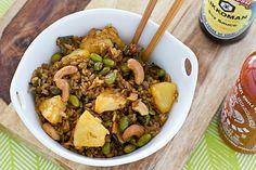 Vegan Meal Plan | 02.27.17 | Baked fried brown rice | ohmyveggies.com