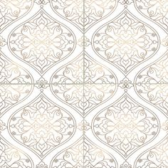 """1730 Lantern -- x 6 """" or x on White or Biscuit Gloss or Matte Tile - Decorative Pattern Tile. Biscuit Color, Quatrefoil Pattern, Tile Murals, White Tiles, Decorative Tile, Color Tile, Tile Patterns, Beautiful Patterns, Colorful Backgrounds"""