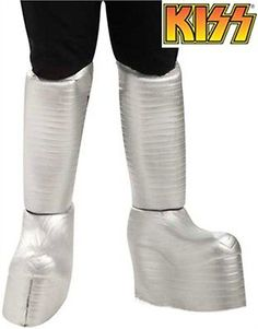 Shoes and Footwear 155347: Adults Kiss Ace Frehley The Spaceman Costume Rock Star Boot Covers -> BUY IT NOW ONLY: $30.98 on eBay!