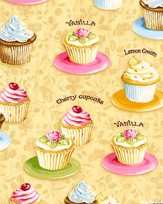 Confections - Cupcake Bakery - Lt Honey