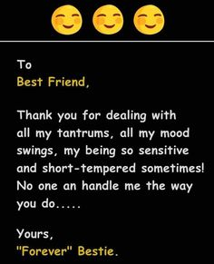 Thnk u fn Funny True Quotes, Bff Quotes, Best Friend Quotes, Funny Dp, Very Funny Jokes, Love My Best Friend, Crazy Friends, School Diary, Brother Sister Quotes