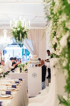 Kate&Brendon Wedding Venue Molenvliet Planning Watermelon by Jadee Photography Christine Meintjies Wedding Decorations, Table Decorations, Real Weddings, Watermelon, Wedding Planner, Wedding Venues, Blue And White, Place Card Holders, Floral