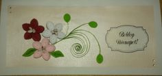 Name day quilling card