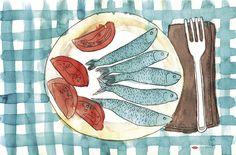 Mediterranean Sketchbook - Olga Molina
