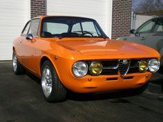 1971 Alfa Romeo 1750 GTV Rally Front