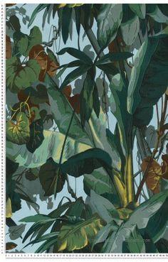 Jungle verte - Papier peint Dekora Natur d'AS Création #tropical #jungle  http://www.papierspeintsdirect.com/papier-peint-jungle.html?p=2