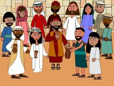 Free Preschool Visuals: When the wine runs out at a wedding, Jesus turns water into vintage wine. John 2:1-11