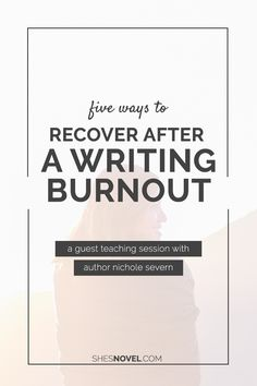 I've been there—several times—and I bet you have too. You work non-stop on  getting that draft finished, going through round after round of revisions,  then copy edits. Add on top of that your family life, the day job, and  keeping up with personal relationships.  All of that together is bound to lead to a burnout every now and then. You  start dreading opening that document, your brain hasn't come up with any  new story ideas, and you even hate the idea of logging online to promote  your…