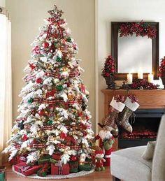 fotos e ideas para decorar el arbol de navidad 2012 2013 11
