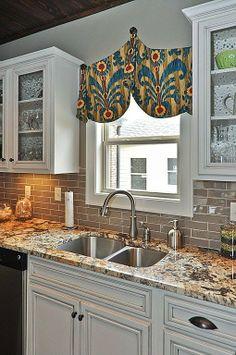 backsplash for busy granite countertops front range backsplash llc