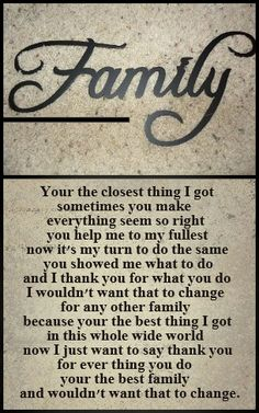 Poetry About Family Love Poem By Alice