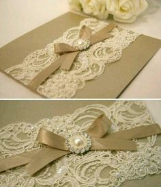 I just received a similar wedding invitation. Summer Wedding, Dream Wedding, Vintage Tea Parties, Lace Invitations, Creative Gift Wrapping, 50th Wedding Anniversary, Marrying My Best Friend, Marry Me, Wedding Designs
