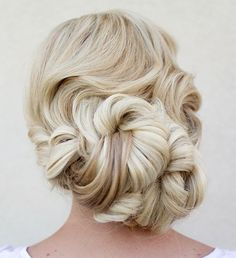 wedding hairstyle idea; Via Hair and Make-up by Steph