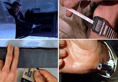10 of the Greatest James Bond Gadgets and Gizmos. See the coolest gadgets ever made... #Bond #spy #spon