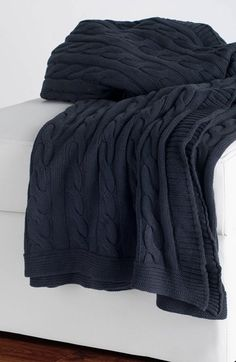 Rizzy Home Cable Knit Throw available at #Nordstrom