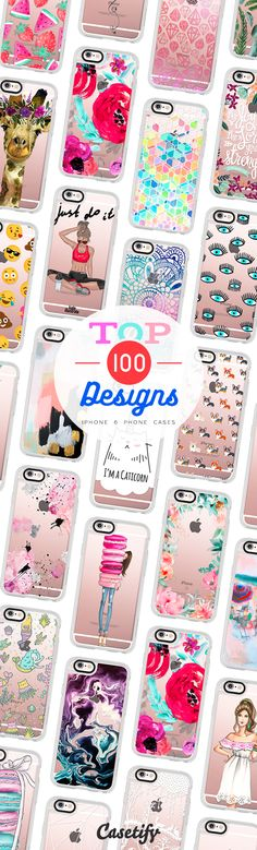 Top 100 iPhone 6 protective phone case designs | Click through to see more animal food marble floral iPhone phone case designs >>> https://www.casetify.com/artworks/5yah4WieDK | @casetify
