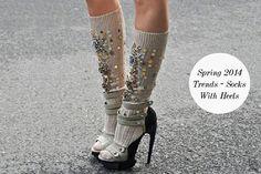 Spring 2014 Trends – Socks With Heels
