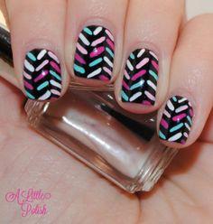 A Little Polish #nail #nails #nailart