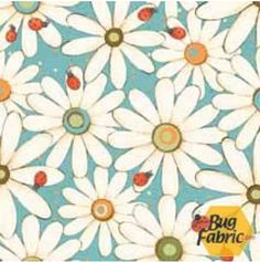 Hip Hop Garden: Daisy Ladybug Teal - South Seas 67481-413