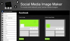 Don't Waste Time: Create Perfect Profile Pictures & Cover Images For All Networks Under One Roof