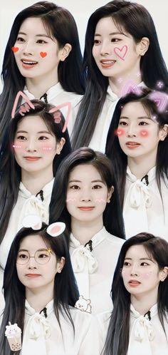 Twice Dahyun, Tzuyu Twice, My Baby Girl, Baby Girls, Twice Kpop, Fans Cafe, Nayeon, Aesthetic Wallpapers, Kpop Girls