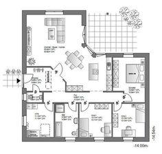 Ö-Haus GmbH / Gestalten - Planen - Bauen: WB-136/ Grundriss