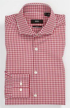 BOSS Black Slim Fit Dress Shirt | Nordstrom