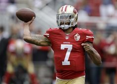Idiot Colin Kaepernick declined to vote.  When Colin Kaepernick began to disrepectfully kneeling during the national anthem earlier this season, suposedly for open discussion on police brutality, the treatment of African-Americans, and the rights of Americans to protest their own national anthem, but really for attention to himself and sales of his T-shirts.