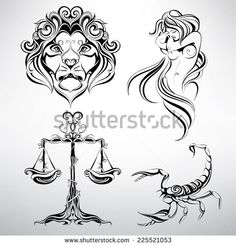 Find Set Zodiac Signs stock images in HD and millions of other royalty-free stock photos, illustrations and vectors in the Shutterstock collection. Libra Tattoo, Zodiac Sign Tattoos, Astrology Signs, Zodiac Signs, Tattoo Portfolio, Quilling Designs, Quilling Art, Free Hand Drawing, Constellation Tattoos