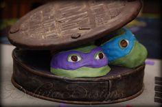 TMNT- Teenage Mutant Ninja Turtles  Cake & Cupcakes