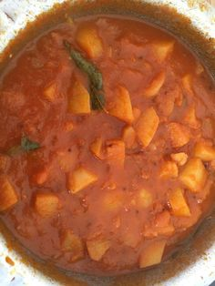 Potatoe chutney
